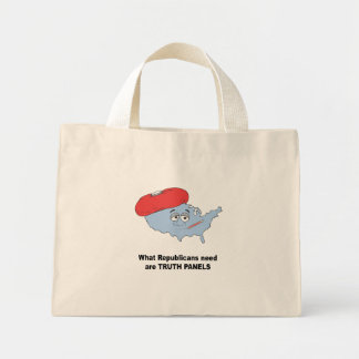 What Republicans need are truth panels Mini Tote Bag