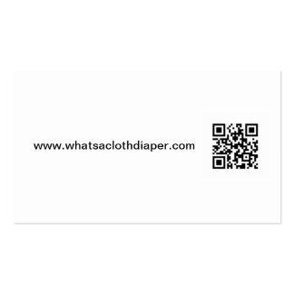 What s a Cloth Diaper Business Card