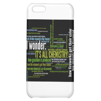 What s chemistry got to do with it iPhone 5C case