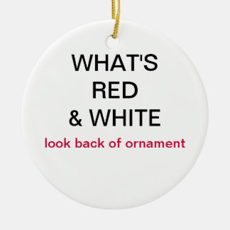 What s Red White Japan Flag Christmas Ornament