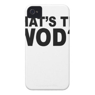 What´s The WOD Women s T-Shirts png iPhone 4 Case