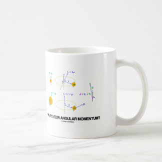 What s Your Angular Momentum Physics Diagrams Mugs
