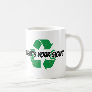 What s your sign coffee mugs