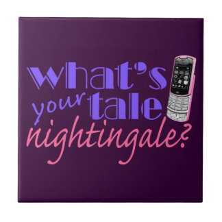 What s Your Tale Nightingale Ceramic Tiles