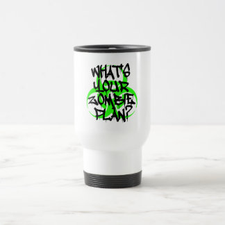 What s Your Zombie Plan Coffee Mugs