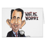 What, Scott Walker Worry Greeting Card