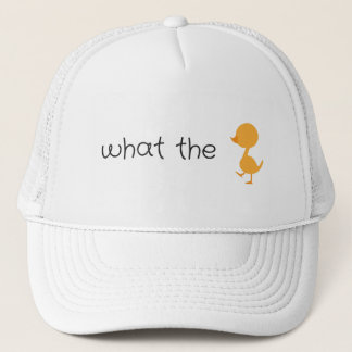 what the duck trucker hat