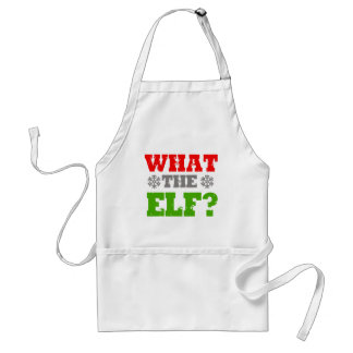 WHAT THE ELF -.png Standard Apron