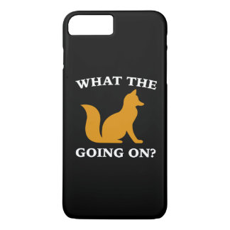 What The Fox Going On? iPhone 7 Plus Case