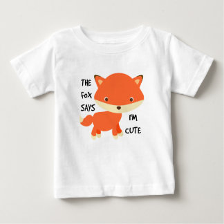 What the Fox Says Fine Jersey T-Shirt