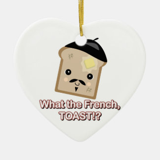 what the french toast christmas ornament