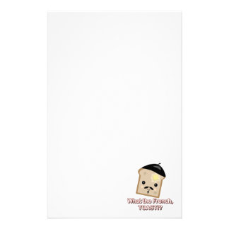what the french toast stationery paper