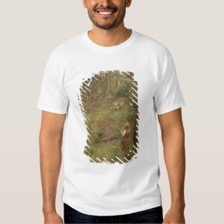 What the Little Girl Saw in the Bush, 1904 Tee Shirt