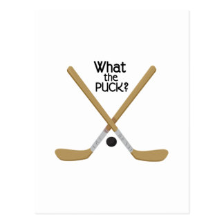 What the Puck? Postcard