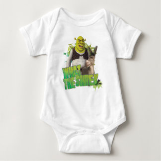 What The Shrek Baby Bodysuit