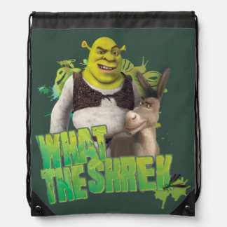 What The Shrek Drawstring Bag