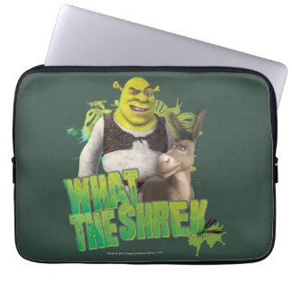 What The Shrek Laptop Sleeve
