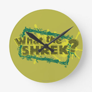 What The Shrek? Round Clock