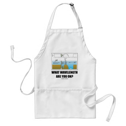 What Wavelength Are You On? (Electromagnetism) Apron