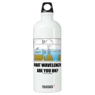 What Wavelength Are You On? (Psychology Humor) SIGG Traveller 1.0L Water Bottle