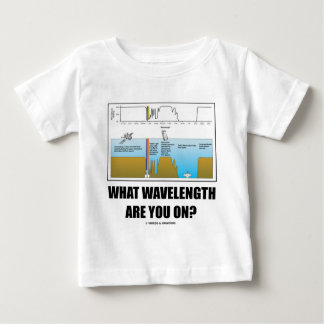 What Wavelength Are You On? (Psychology Humor) Tee Shirt