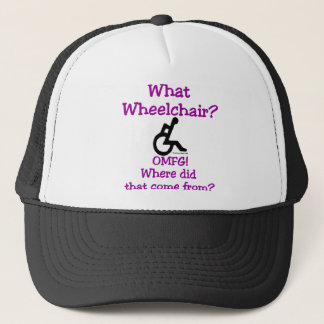What Wheelchair (Light) Trucker Hat