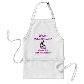 What Wheelchair Standard Apron