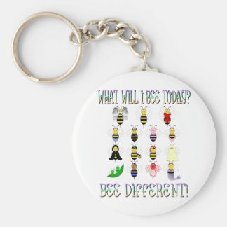 What Will I Bee Today Keychain