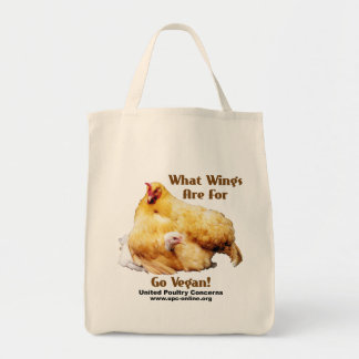 What Wings Are For - Go Vegan