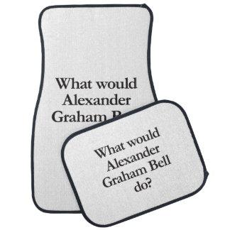 what would alexander graham bell do car mat