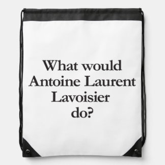 what would antoine laurent lavoisier do cinch bag