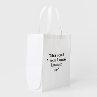 what would antoine laurent lavoisier do grocery bags