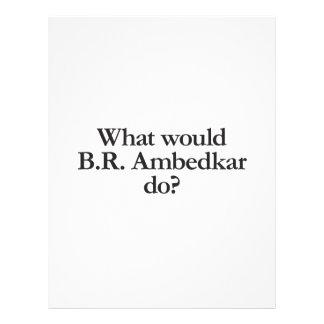 what would b r ambedkar do custom flyer