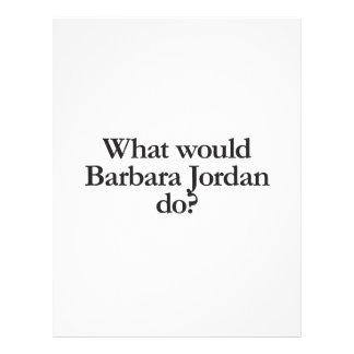 what would barbara jordan do flyer design
