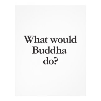 what would buddha do flyer design