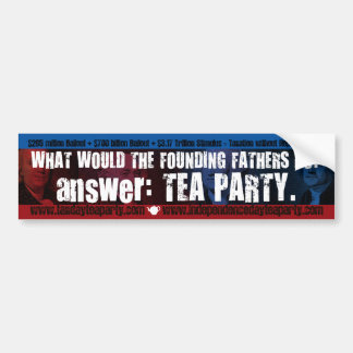 What Would...bumper sticker