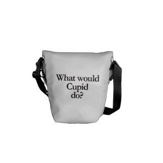 what would cupid do commuter bag