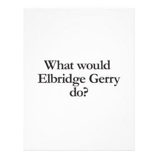 what would elbridge gerry do flyer