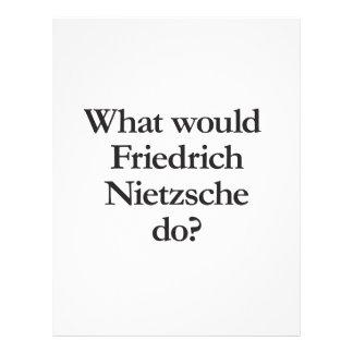 what would friedrich nietzsche do custom flyer