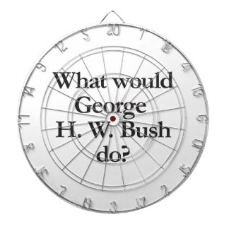 what would george h w bush do dartboards