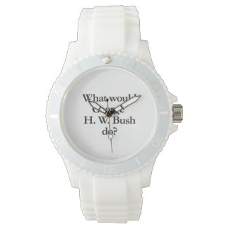 what would george h w bush do watches