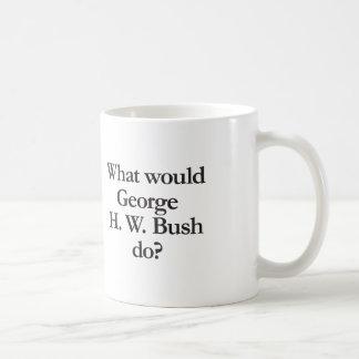 what would george h w bush do coffee mug