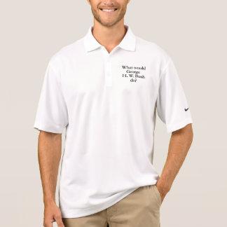 what would george h w bush do polo shirts