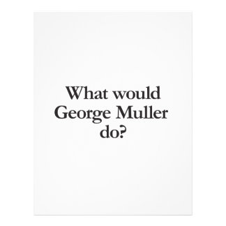 what would George Muller do Flyer