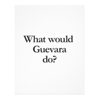 what would guevara do flyers