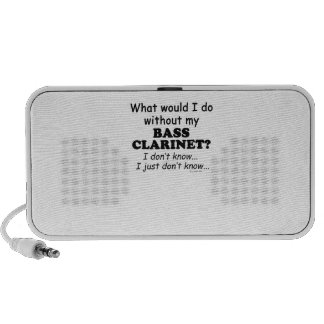 What Would I Do, Bass Clarinet Laptop Speaker