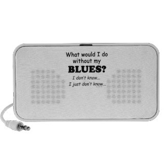 What Would I Do, Blues iPhone Speaker