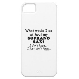 What Would I Do, Soprano Sax iPhone 5 Cover