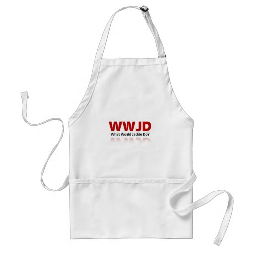 What would Jackie do? Apron