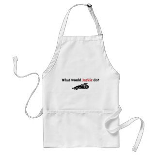 What would Jackie do Aprons